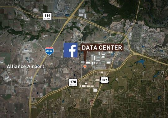 facebook unveils plans for fort worth data center. Black Bedroom Furniture Sets. Home Design Ideas