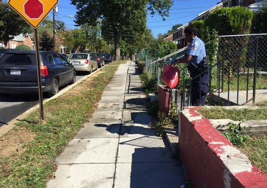 Police on scene of dog attack in Southeast D.C.