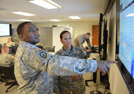 Members of a 7th Signal Command Cyber Protection Team