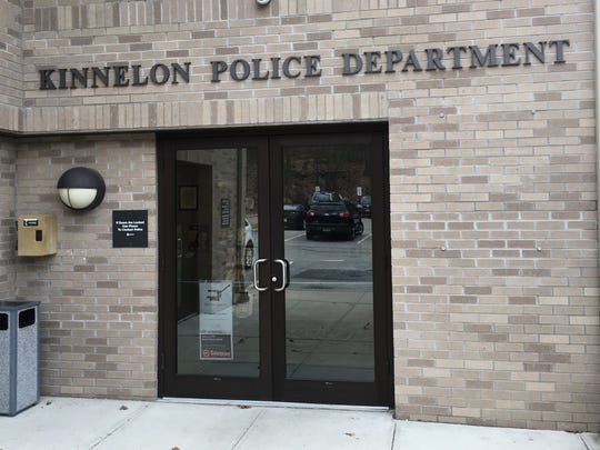 Kinnelon Police announced the entrance at the police department is a safe zone to meet people when conducting business via the internet.