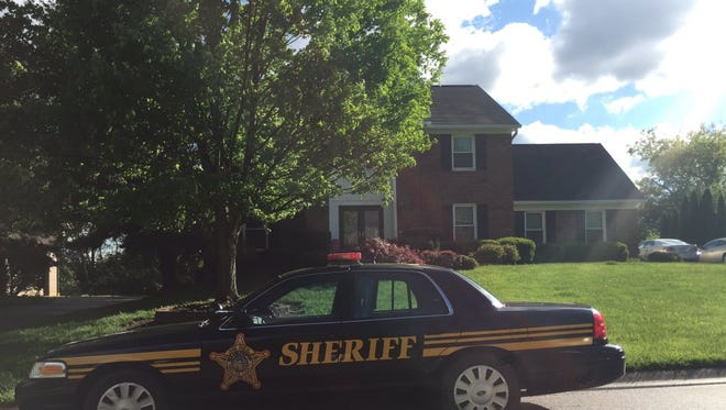 The home at the 8700 block of Redcloud Court where 64-year-old Anant Singh was found unresponsive.