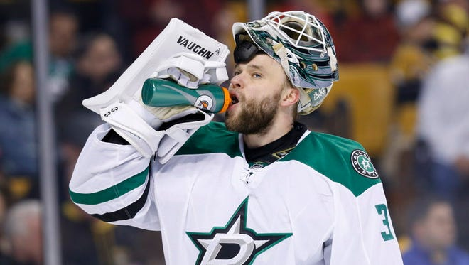 The Dallas Stars have bought out goalie Antti Niemi.