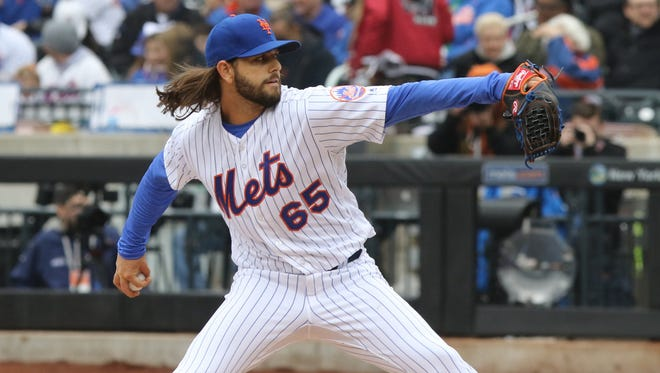 Entering Saturday, Robert Gsellman had appeared in half of the team's games, and was on pace to throw roughly 112 innings this season.