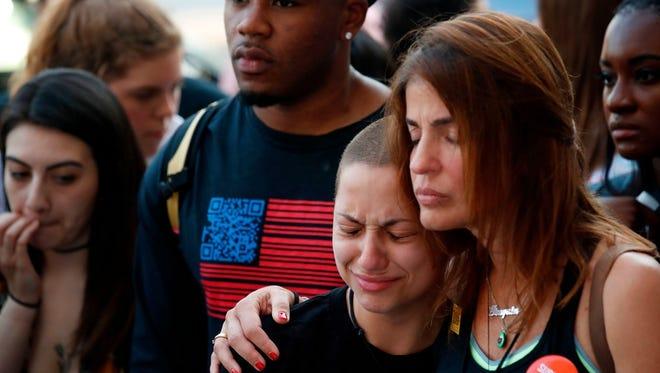 Marjory Stoneman Douglas High School shooting survivor Emma Gonzales in Chicago on June 15, 2018.