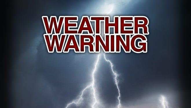 Weather alert.