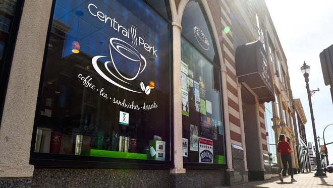 Central Cafe in downtown St. Cloud will close at the end of March. The shops is shown on April 25, 2018.