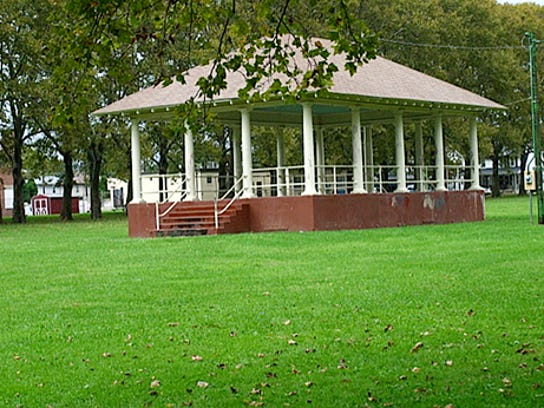 submittedFor Jim's blog. Bandstand at Albemarle Park, York City