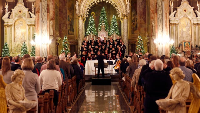 """In December the Milwaukee Symphony Chorus will sing Handel's """"Messiah"""" at several locations."""