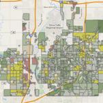 Sioux Falls housing map