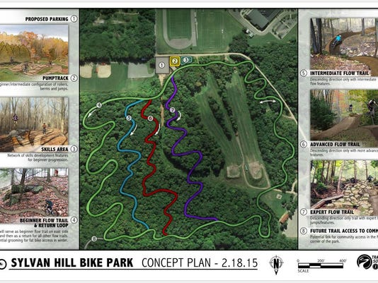 Sylvan Hill bike plan