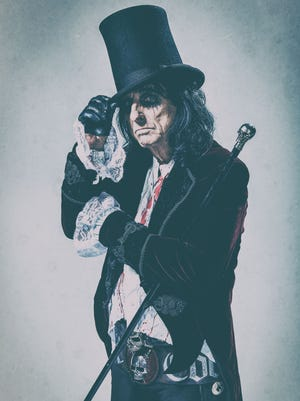 Rock icon Alice Cooper will perform at the York Fair. (Submitted)