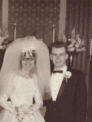Dave and Betty Caillouette were married June 12, 1965.