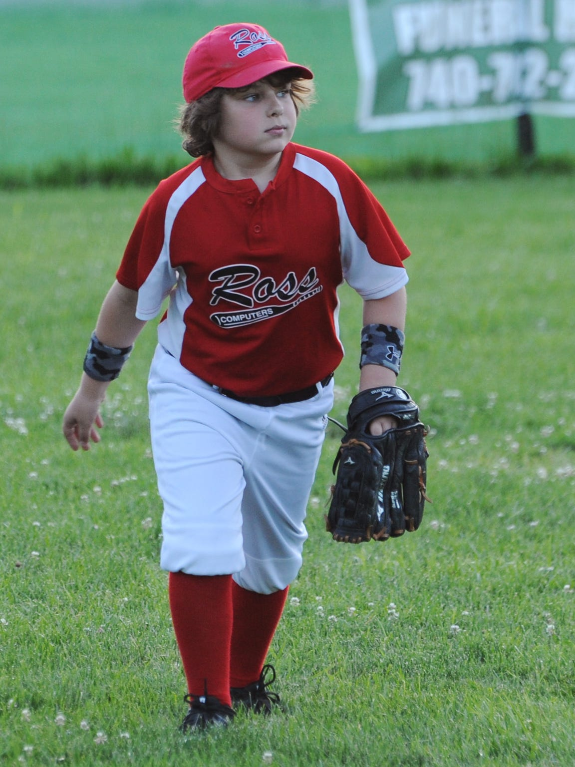 Connor Davis waits for the pitch during a game Tuesday,