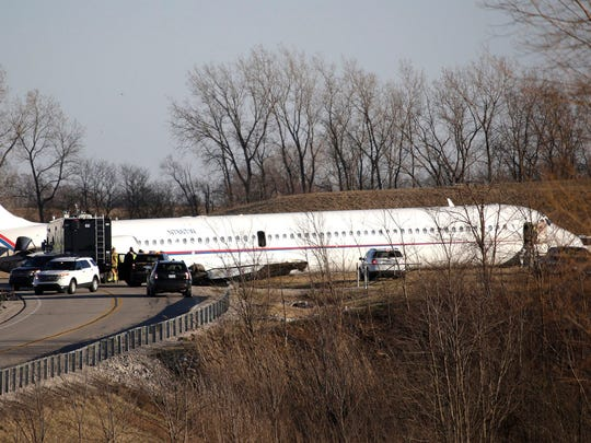 A plane carrying the U of M basketball team was forced