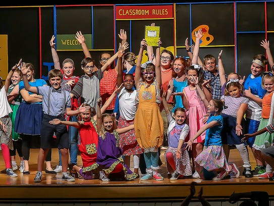 See 'Junie B. Jones, the Musical' on stage.