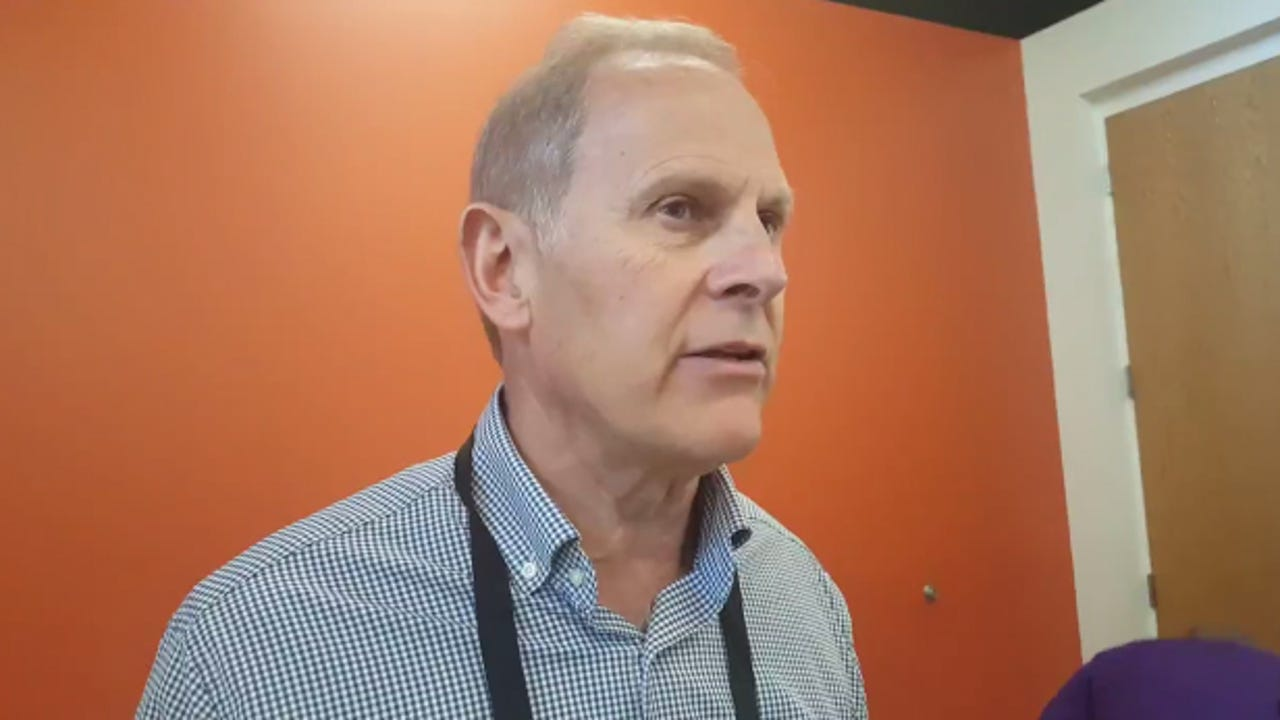 Michigan coach John Beilein talks about D.J. Wilson's injury, as well as expectations for Moritz Wagner and Derrick Walton, Jr.