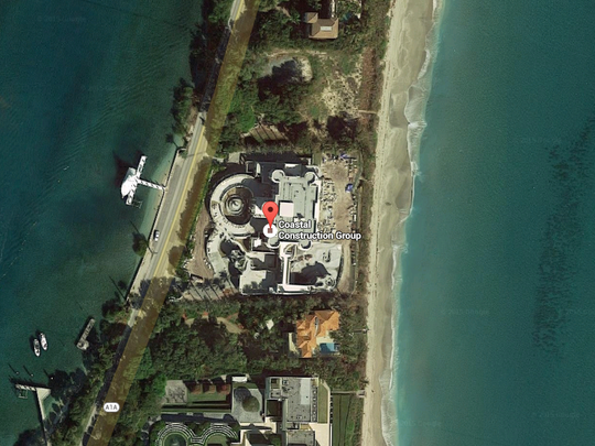 The $159 million Le Palais Royal in Hillsboro Beach, Florida.