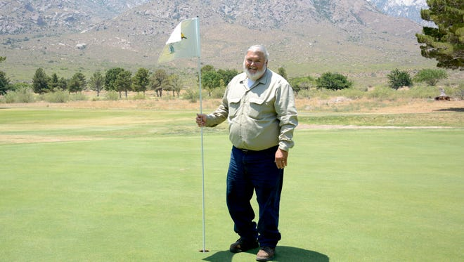 WSMR Golf Course Superintendent Bill Ticho has worked at the golf course for the past 24 years maintaining the 70-acre course.