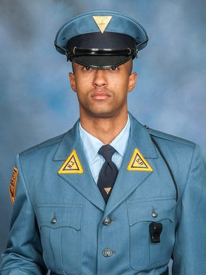 State Trooper Frankie Williams died on Monday night, after a vehicle crossed a highway median and hit Williams' car head-on.