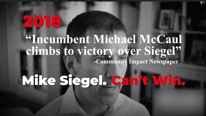 The super PAC 314 Action is running an ad supporting Dr. Pritesh Gandhi and opposing Mike Siegel in Texas' 10th Congressional District.