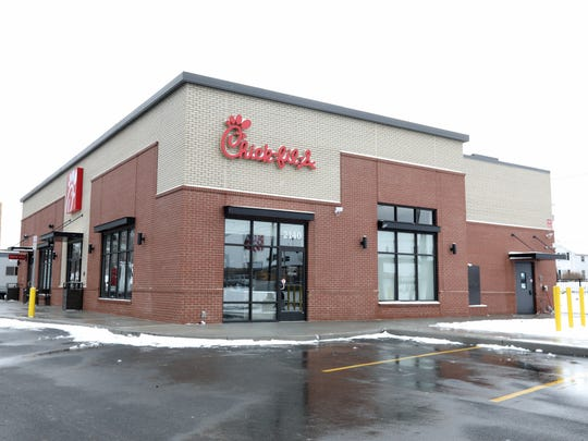 Chick-fil-A in Greece is due to open April 12.