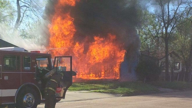 "A juvenile is in custody after two ""suspicious"" fires on Monday morning, according to the Alexandria Fire Department."