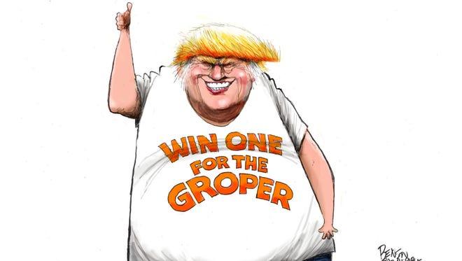 Cartoon for Oct. 14, 2016.
