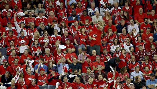 The Washington Capitals and their fans are looking to advance to the team's first Stanley Cup Final since 1998.