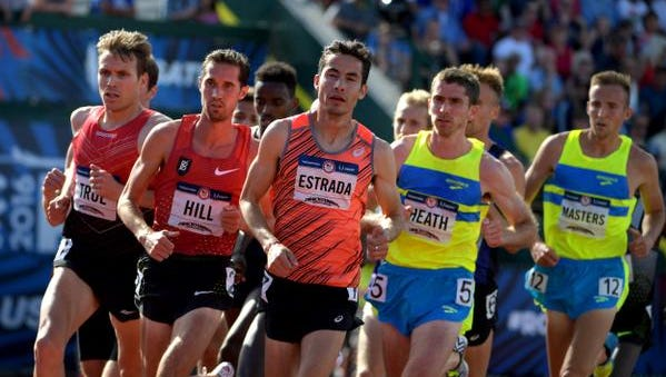 Bernard Lagat, Lopez Lomong and Diego Estrada were among runners with Arizona ties advancing to the 5,000-meter final Monday at the U.S. Olympic Track Trials.