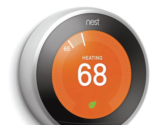 The third-generation Nest Learning Thermostat adapts