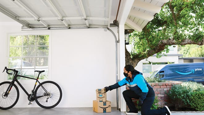 Amazon Key allows delivery drivers to drop off packages inside your gate, garage, or home.