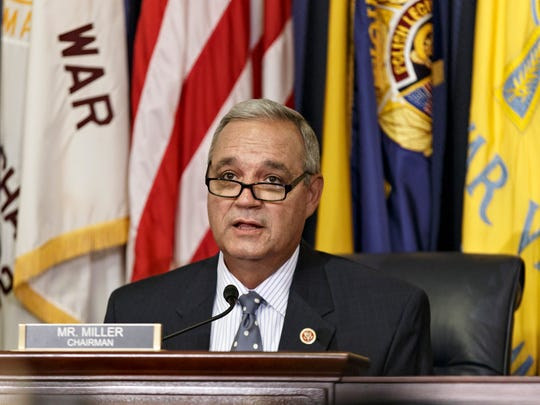 Rep. Jeff Miller, R-Fla., and chairman of the House Committee on Veterans' Affairs, made a stunning announcement during an April 9 committee hearing.