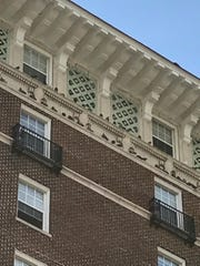 Pigeons like the Battery Park Apartments' ledges and