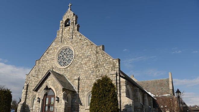 Holy Trinity Church, located in the Town of Poughkeepsie.