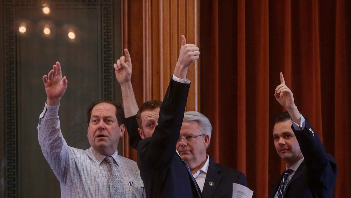 GOP delivers on pro-business bills: Key issues that defined Iowa's Legislature 2017 session