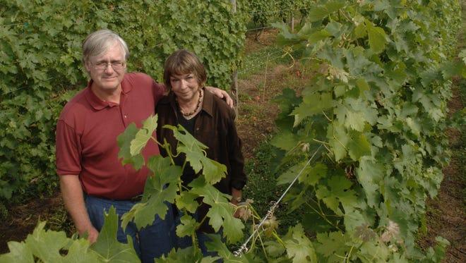Ron Barrett and Nancy Bentley have sold Kinkead Ridge Winery in Ripley after 13 years.