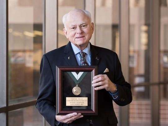 Dr. Richard McCallum, professor and founding chair of the Department of Internal Medicine at Texas Tech University Health Sciences Center El Paso.