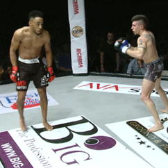 Fighter imitates UFC champ's dance, is knocked out
