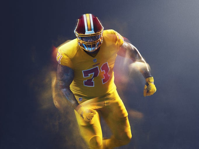 Nike S Nfl Color Rush Uniforms