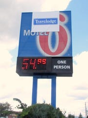 The Travelodge in Horseheads recently changed its name from Motel 6.