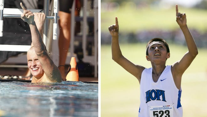 Xavier Prep girls golf, Brophy Prep boys swimming and Keams Canyon Hopi High boys cross country are three of the most dominant high school teams in Arizona.