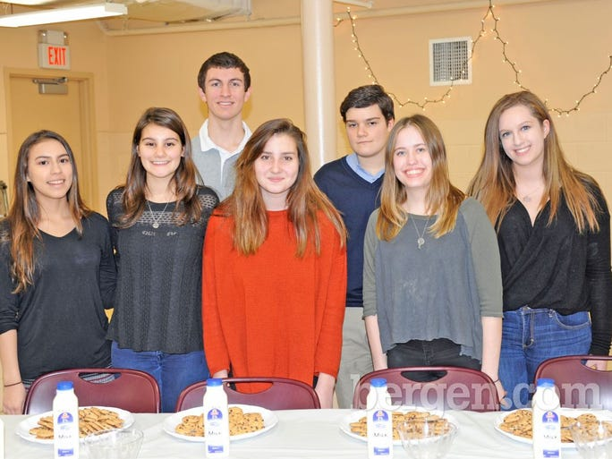 Members of the Civic Youth Corps: Aly, Sofia (President), Christian (Vice President), Rachel, Cole, Chelsea and Tory (Photo by Hildi Borkowski)