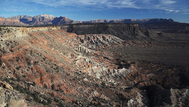 Conservation groups and other advocates are lobbying against a proposed oil and gas lease area that would be located in the Dry Creek proposed wiliderness area just outside of Zion National Park.