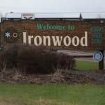 The upper peninsula city of Ironwood.