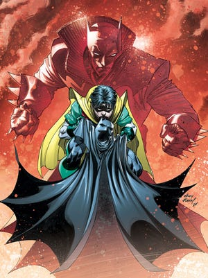 """Damian Wayne grows up to be a different kind of Dark Knight than his dad in """"Damian: Son of Batman."""""""