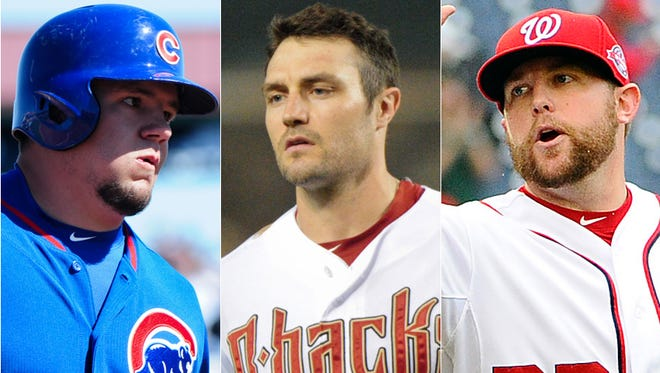 Cubs catcher Kyle Schwarber (Indiana University), Diamondbacks  outfielder A.J. Pollock (Notre Dame) and Nationals reliever Drew Storen (Brownsburg) had notable  performances in the first half of the big-league season.