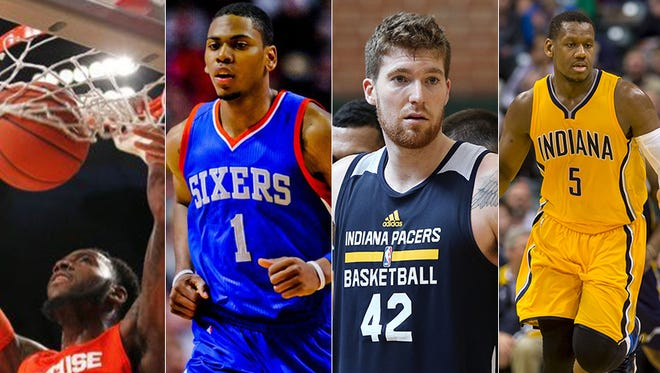 The Pacers signed Rakeem Christmas and Glenn Robinson III, and re-signed Shayne Whittington and Lavoy Allen on Monday, July 27, 2015