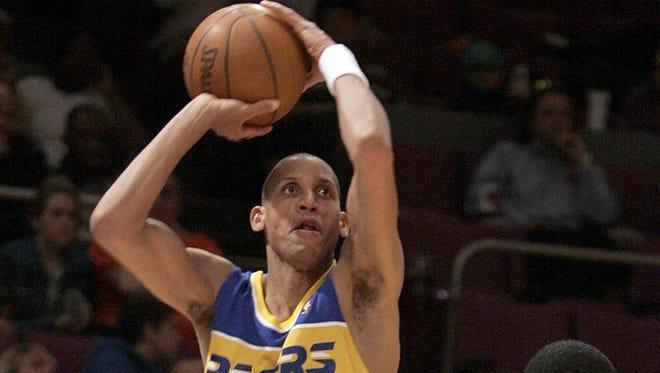 Reggie Miller against the Knicks in 1990.