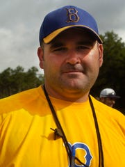 Buckeye High School football coach Jonathan Landry