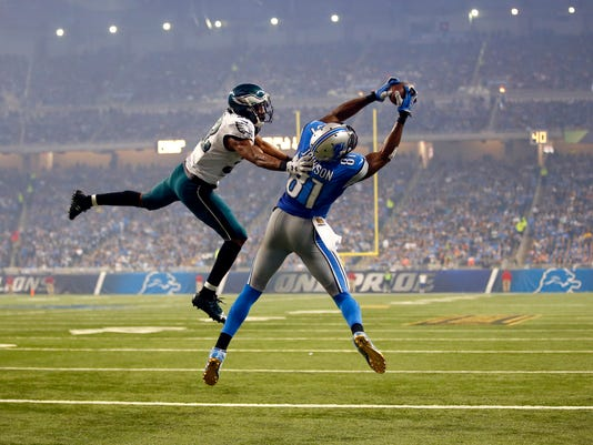Calvin Johnson,  Eric Rowe